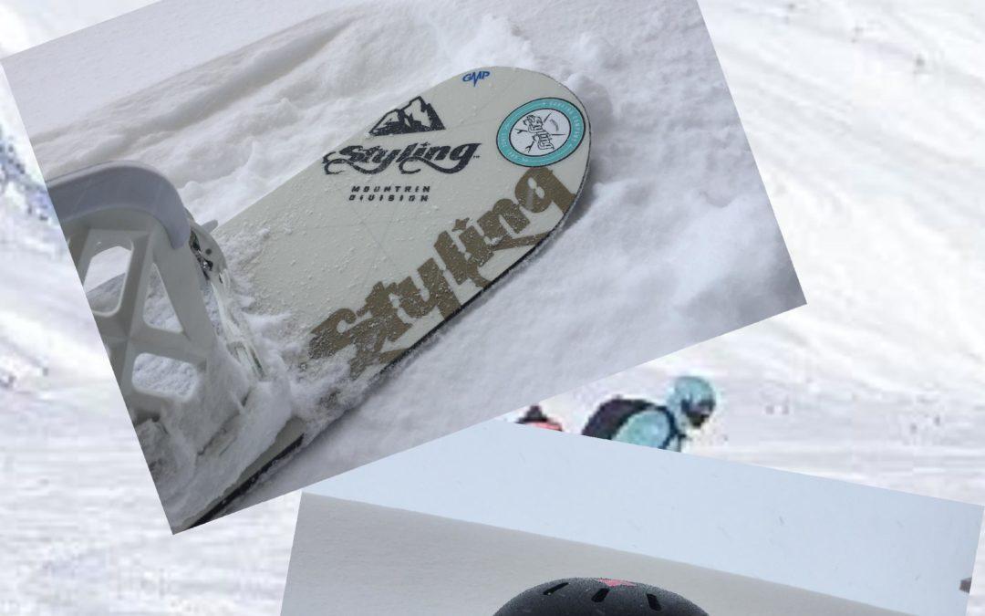 Rotulación de cascos, tablas de snow, etc.